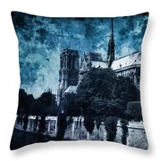 Dissipating Rapture Throw Pillow by Andrew Paranavitana