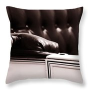 Do You Like It Throw Pillow by Susanne Van Hulst