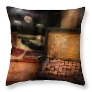 Doctor - Everything You Need To Be A Doctor Throw Pillow by Mike Savad