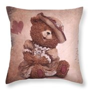 Dorothy In Love Throw Pillow by Angela Doelling AD DESIGN Photo and PhotoArt
