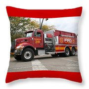 Downs Tanker 38 Throw Pillow by Roger Look