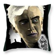 Draco Throw Pillow by Lisa Leeman