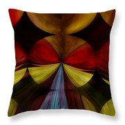Dragonfly Throw Pillow by Jill English