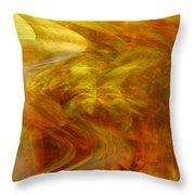 Dreamstate Throw Pillow by Linda Sannuti