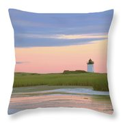 Early Light At Wood End Light Throw Pillow by Roupen  Baker