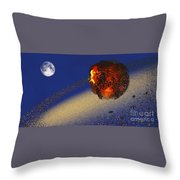 Earth 2012 Throw Pillow by Corey Ford