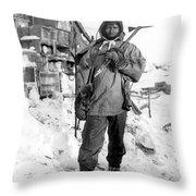 EDGAR EVANS (1876-1912) Throw Pillow by Granger