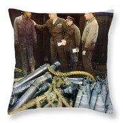 Eisenhower: Wwii, C1944 Throw Pillow by Granger