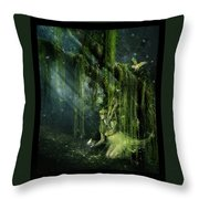 Elemental Earth Throw Pillow by Mary Hood