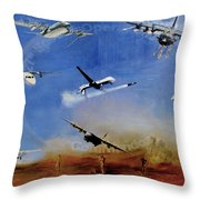 Elite Engagement Throw Pillow by Todd Krasovetz