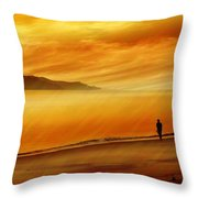 Elixir Of Life Throw Pillow by Holly Kempe