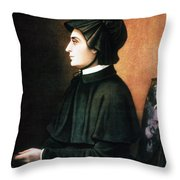 Elizabeth Ann Seton Throw Pillow by Granger
