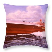Elusive Throw Pillow by Richard De Wolfe