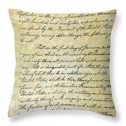 Emancipation Proc., P. 1 Throw Pillow by Granger
