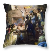 EMANCIPATION PROCLAMATION Throw Pillow by Granger