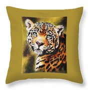 Enchantress Throw Pillow by Barbara Keith