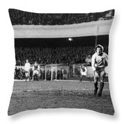 England: Soccer Game, 1972 Throw Pillow by Granger