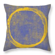 Enso 1 Throw Pillow by Julie Niemela