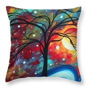 Envision the Beauty by MADART Throw Pillow by Megan Duncanson