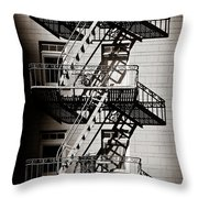 Escape Throw Pillow by Dave Bowman