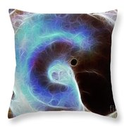 Event Horizon Throw Pillow by Wingsdomain Art and Photography