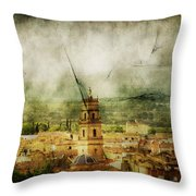 Existent Past Throw Pillow by Andrew Paranavitana