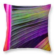 Exposed Throw Pillow by Gwyn Newcombe
