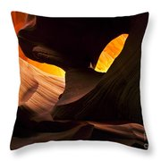Eye Of The Needle Throw Pillow by Mike  Dawson