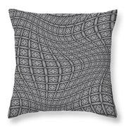 Fabric Design 19 Throw Pillow by Karen Musick