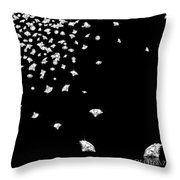 Falling Diamonds Throw Pillow by Setsiri Silapasuwanchai
