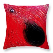 Falling In To Passion Throw Pillow by Ian  MacDonald