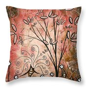 Far Far Away By Madart Throw Pillow by Megan Duncanson