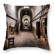 Fear Factor Throw Pillow by Andrew Paranavitana