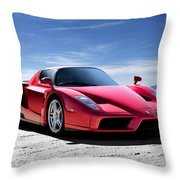 Ferrari Enzo Throw Pillow by Douglas Pittman