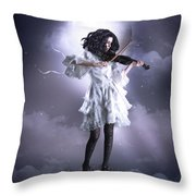 Fiddler's Green Throw Pillow by Shanina Conway