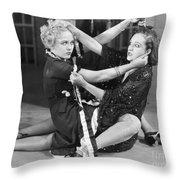 Film Still: Chicago, 1927 Throw Pillow by Granger