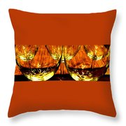 Fine Wine And Dine 3 Throw Pillow by Will Borden