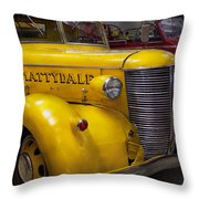 Fireman - Mattydale  Throw Pillow by Mike Savad