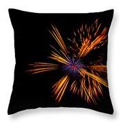 Firework Fun Throw Pillow by Dawn OConnor