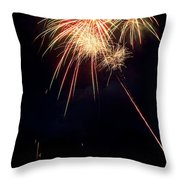 Fireworks 49 Throw Pillow by James BO  Insogna