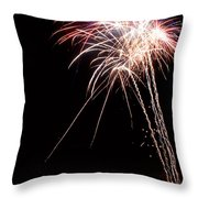 Fireworks 70 Throw Pillow by James BO  Insogna
