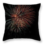 Fireworks Throw Pillow by Christopher Holmes