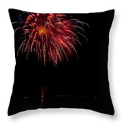 Fireworks II Throw Pillow by Christopher Holmes