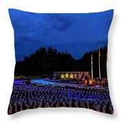 Flags of our Fathers Throw Pillow by Jon Burch Photography