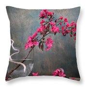 Fleur Throw Pillow by Manfred Lutzius