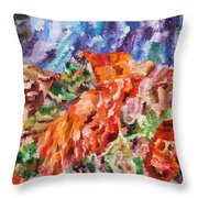 Flock Throw Pillow by Ralph White