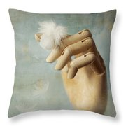 Fly Far Away Throw Pillow by Amy Weiss