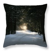 Flying Angel No.2 Throw Pillow by Neal  Eslinger