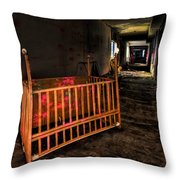 Forgotten Lullaby Throw Pillow by Evelina Kremsdorf