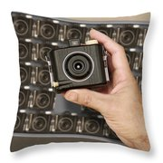 Fresh Brownies Throw Pillow by Mike McGlothlen
